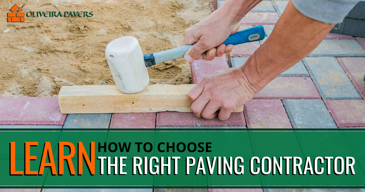 how to choose a paving contractor
