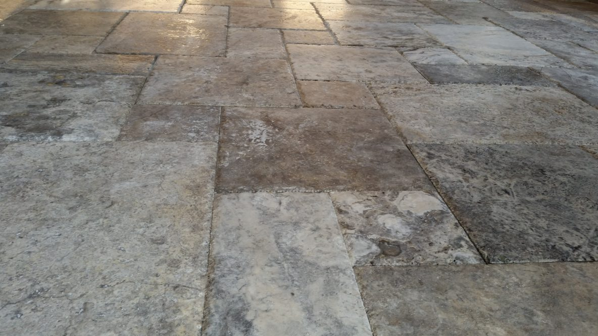 tampa travertine paving stones