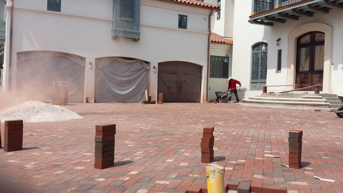 permeable pavers